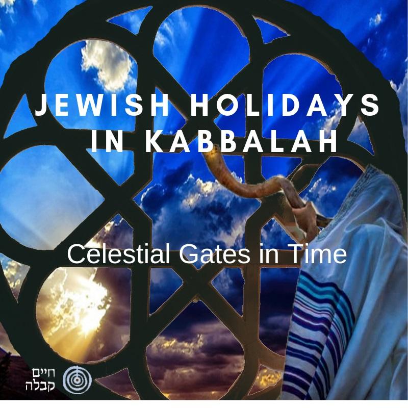 Jewish Holidays in Kabbalah – Celestial Gates in Time