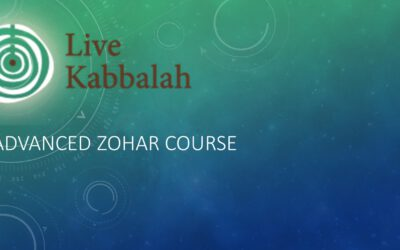 Advanced Zohar Course